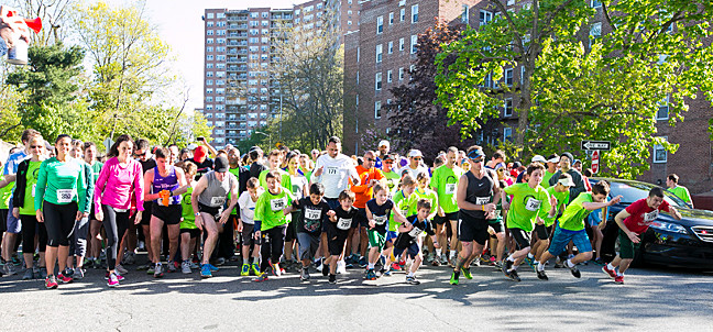 342 runners participated in the riverdale YM-YWHA's annual 5k/10k run through the streets of riverdale on Sunday, May 5.