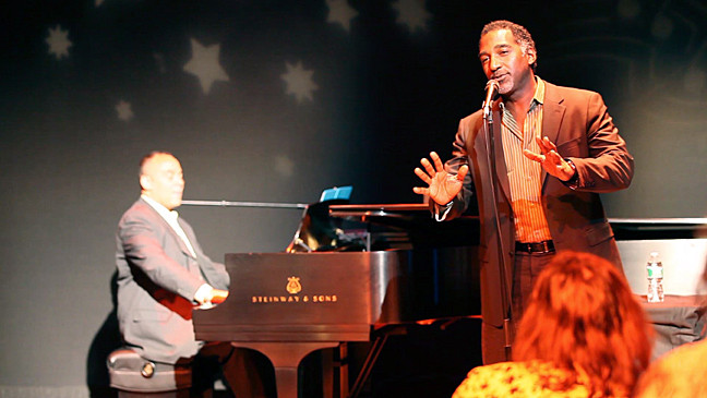 Norm Lewis perform at 'An Enchanted Evening' at Lehman Center for the Performing Arts on  June 14.