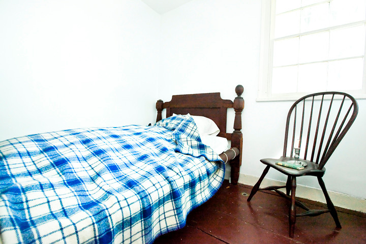 The bed where Edgar Allan Poe�s wife Virginia Eliza Clemm Poe spent her last years.