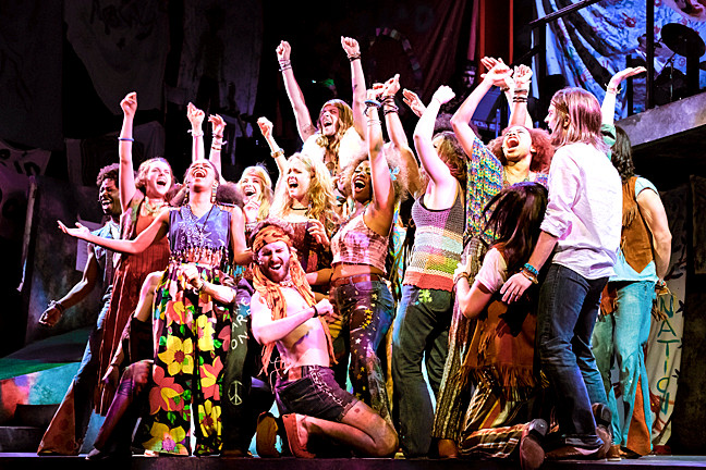 The Tony Award-winning musical �Hair� comes to the Lehman Center for the Performing Arts on Feb. 2, 2014.