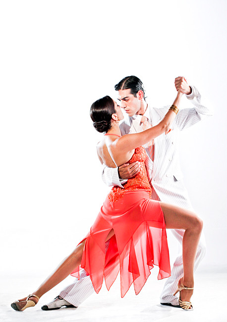 Tango Fire lights up the Lehman Center stage on Oct. 19.