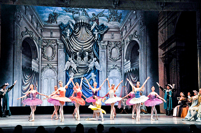 The Moscow Festival Ballet will perform �Sleeping Beauty� on Mar. 16.