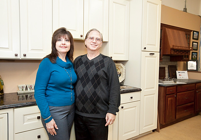 Rose and Jim Paciullo have based their success on fostering great relationships with kitchen and bath design clients.