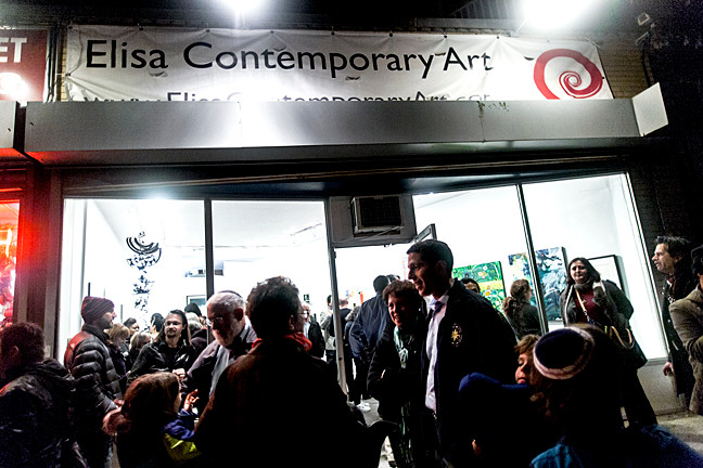 Opening Reception of Curate NYC at Elisa Contemporary Art on Oct. 29.