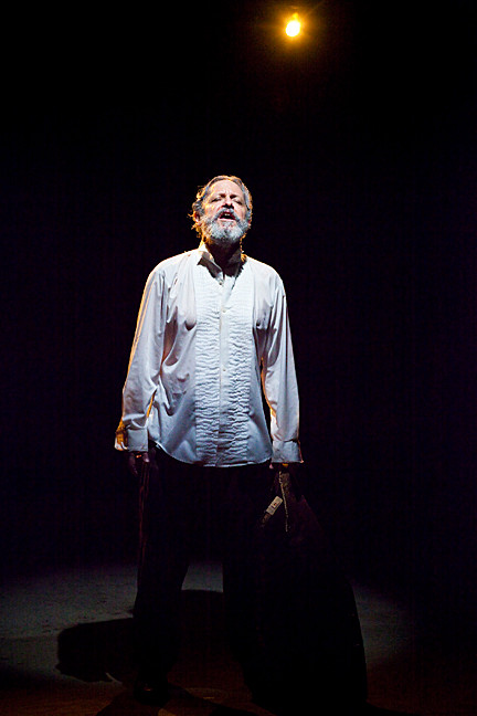 Lawrence Reina brings an agonized King Lear to life.