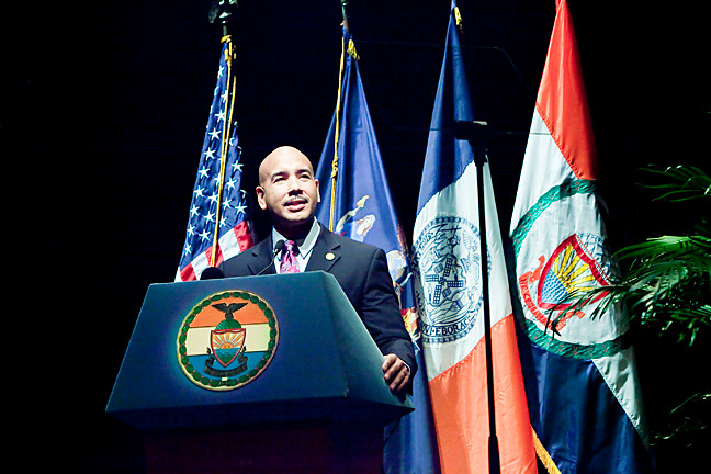 Bronx Borough President Ruben Diaz Jr. gives his 2014 State of the Borough Address.