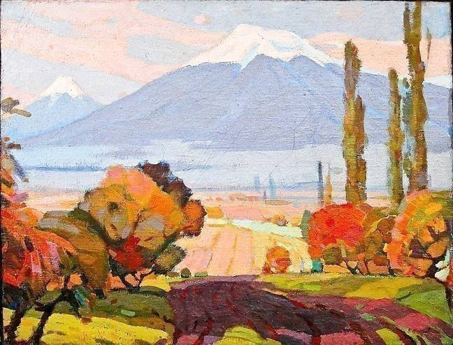 Peter Shlikov, 'The Ararat Plain.'