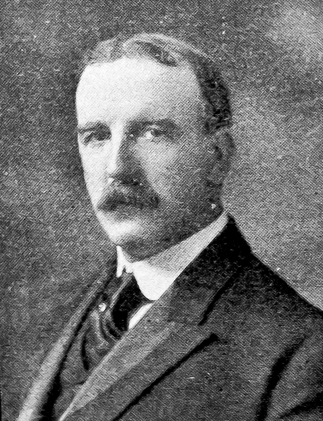Bronx Borough President Douglas Mathewson in 1914.