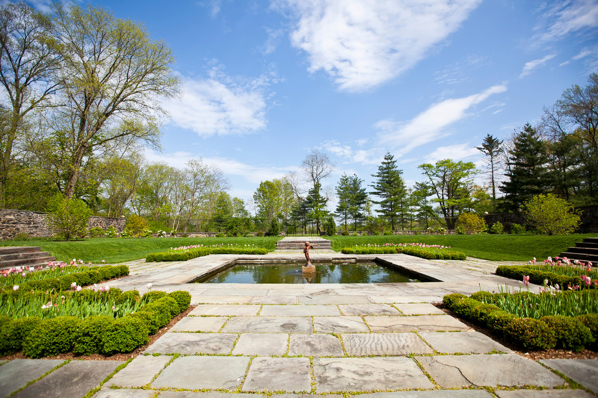 The Terrace Garden at the Bartow-Pell Mansion Museum underwent renovations a year ago.