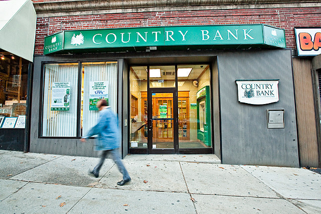 Country Bank on 583 West 235th St. was robbed on Nov. 3.