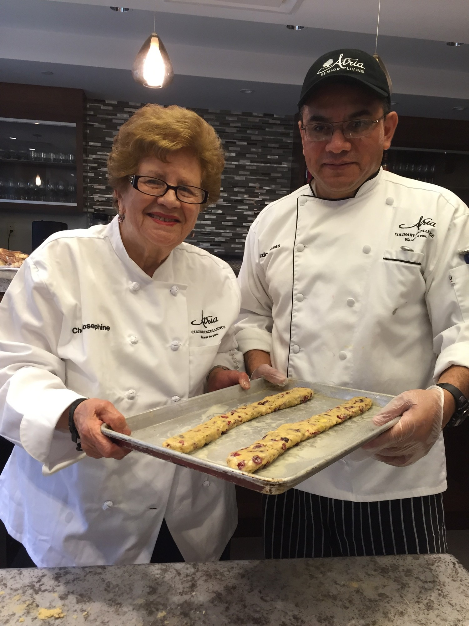 Atria Riverdale Residents Cook with Our Chefs