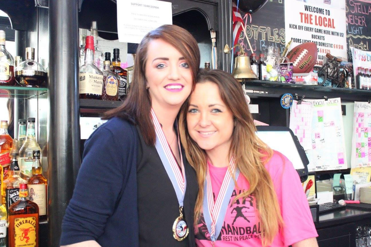 """The Local"" bartenders Karen & Lisa"