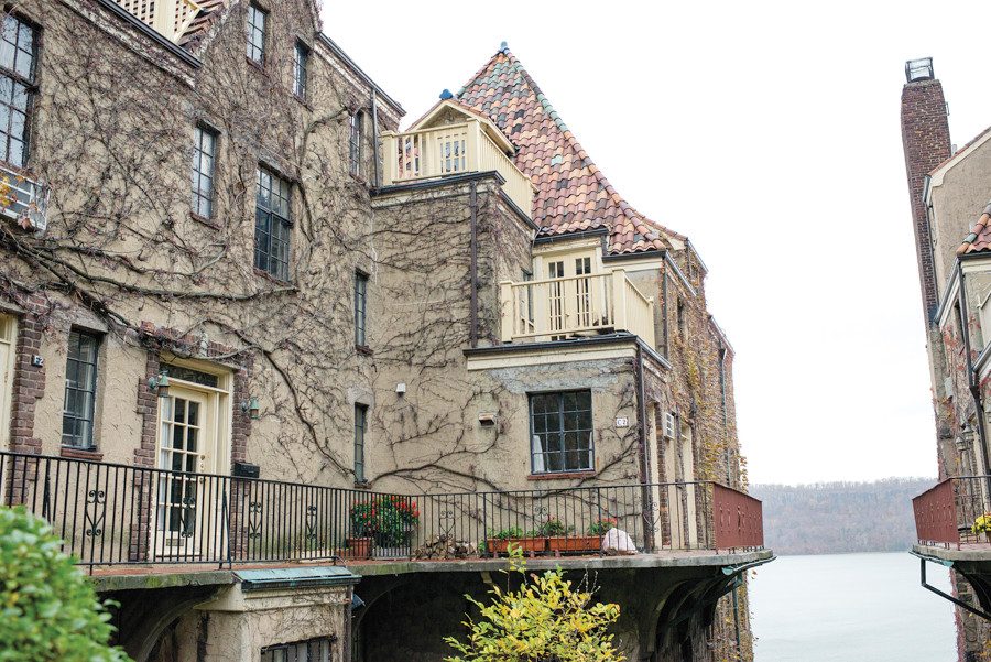 The Villa Charlotte Brontë in Spuyten Duyvil, built in 1926, seen on Nov. 19.