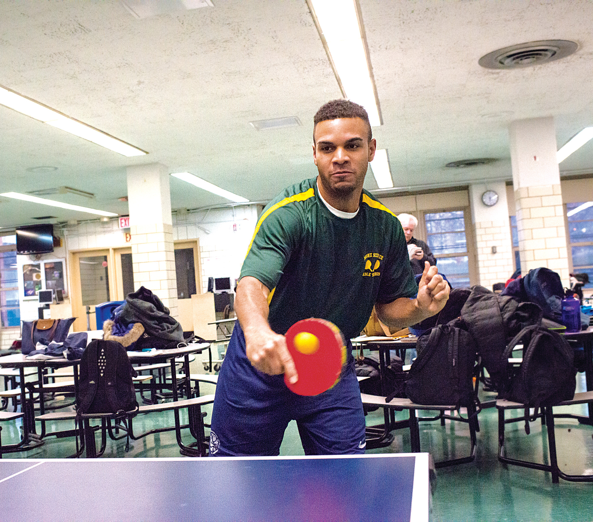 Squad nails the science of table tennis | The Riverdale Press ...