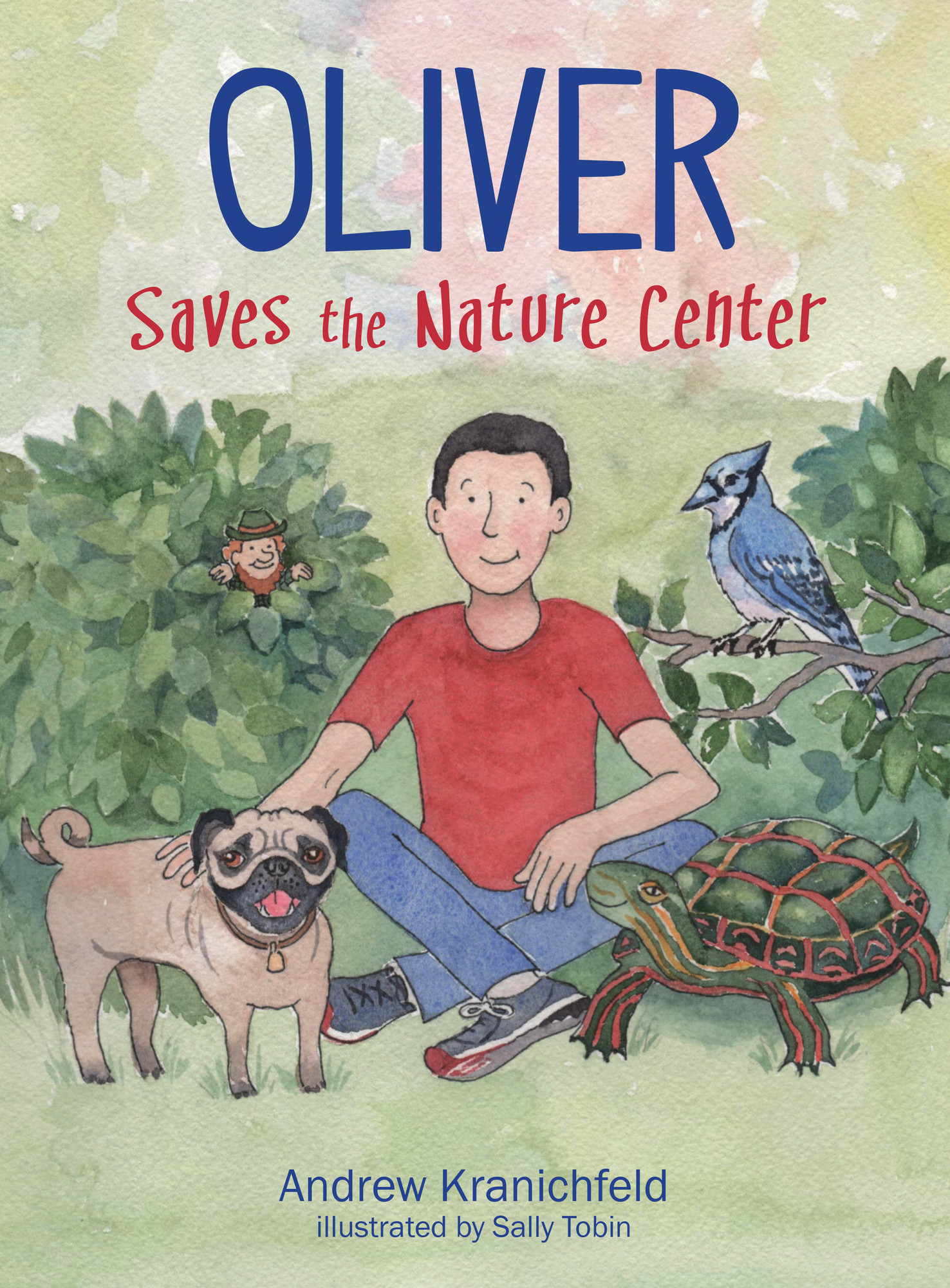 'Oliver Saves the Nature Center,' a book by local Kingsbridge author Andrew Kranichfeld.