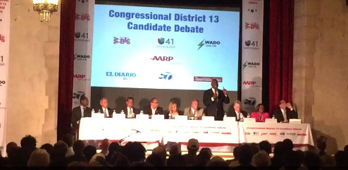 Raucous crowd at #NY13 debate | The Riverdale Press ...