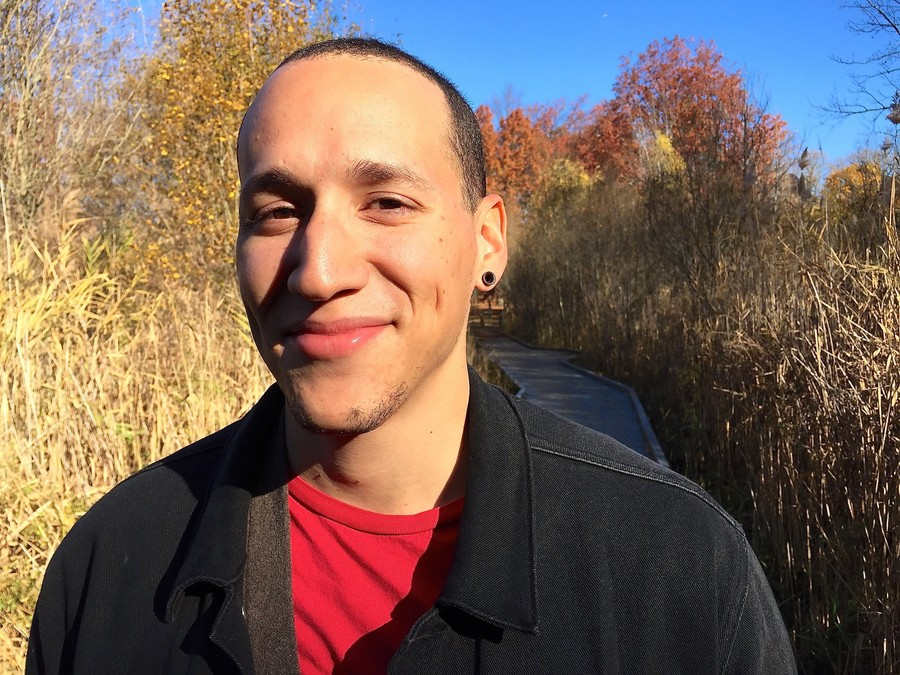 Kingsbridge-born Emerson Nuñez was recently appointed as director of Van Cortlandt Park's youth and volunteer programs. He leads an internship program.
