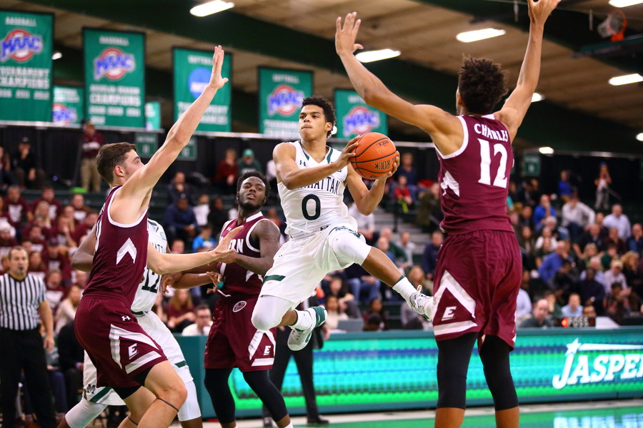 Na'Quan Council, No. 0, during a Dec. 22 game against Eastern Kentucky.