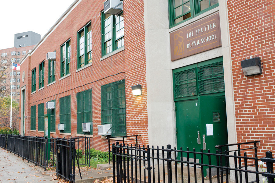 Elected officials said the Education Department reversed its decision and offered 58 seats to local students were originally placed on PS 24's waiting list for admittance.