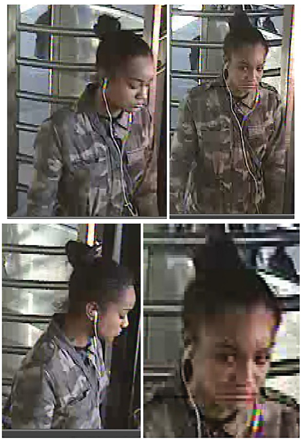 Police released new photos Monday of a woman wanted for questioning in connection to a robbery at a bus stop on West 231st Street and Broadway on April 2. The suspect, police say, pushed an 83-year-old woman to the ground and stole her purse before running away.