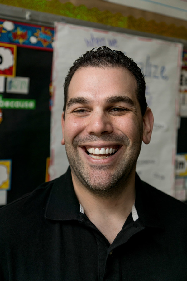 Steven Schwartz is officially the principal of PS24, and has ambitions to make the school the best in the city.