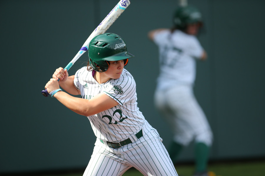 Manhattan third baseman Victoria Ross had six RBI and scored four times in Manhattan's four games last weekend. The Jaspers went 2-2 in their four contests.