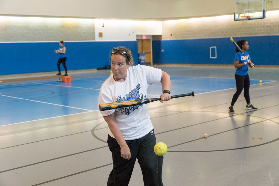 New head coach Erin Van Nostrand, a former Division III coach of the year, is working her magic in resurrecting the Lehman softball program.