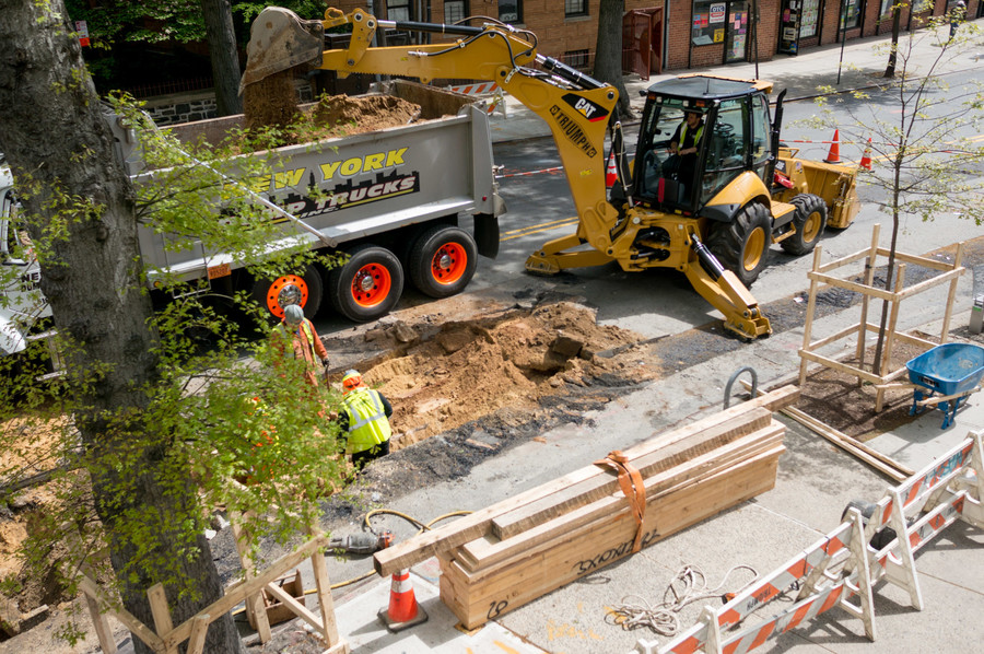 Parking and space are in short supply on Sedgwick Avenue, where some residents say Con Edison failed to inform them of construction starting on their street.