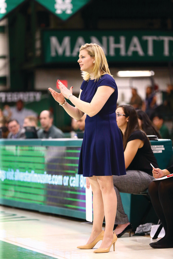 Manhattan College women's basketball coach Heather Vulin just finalized her first recruiting class and is looking for a turnaround season for her program come fall.