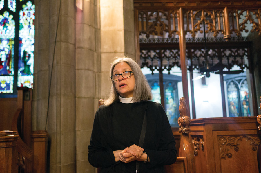 Rev. Loyda Morales talks about her experience of becoming the first female priest in her parish.