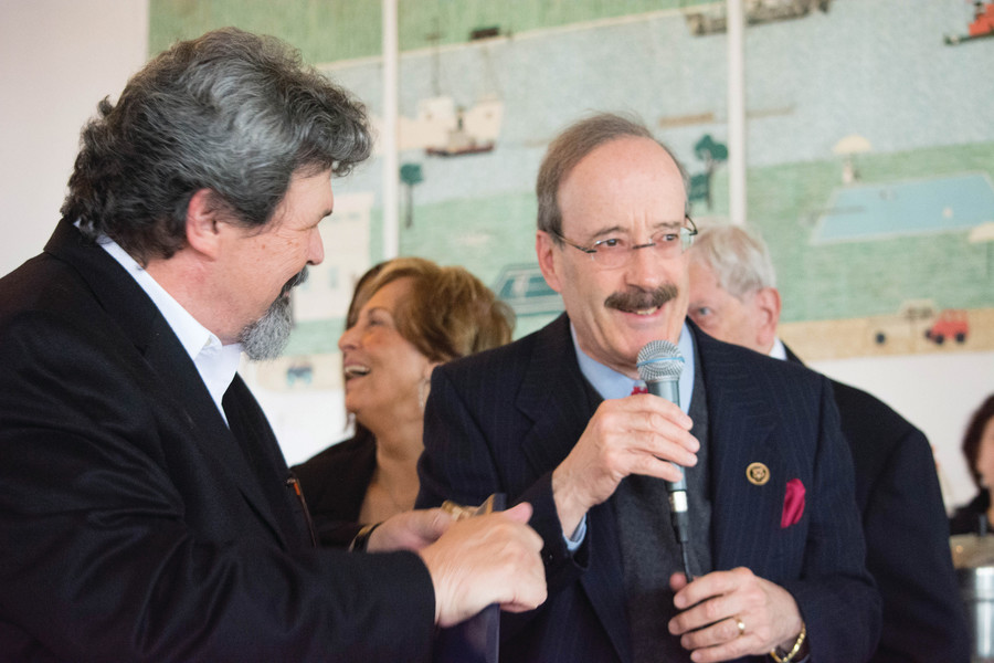 U.S. Rep. Eliot Engel is one of various elected officials and other dignitaries who attend Bronx Arts Ensemble events.