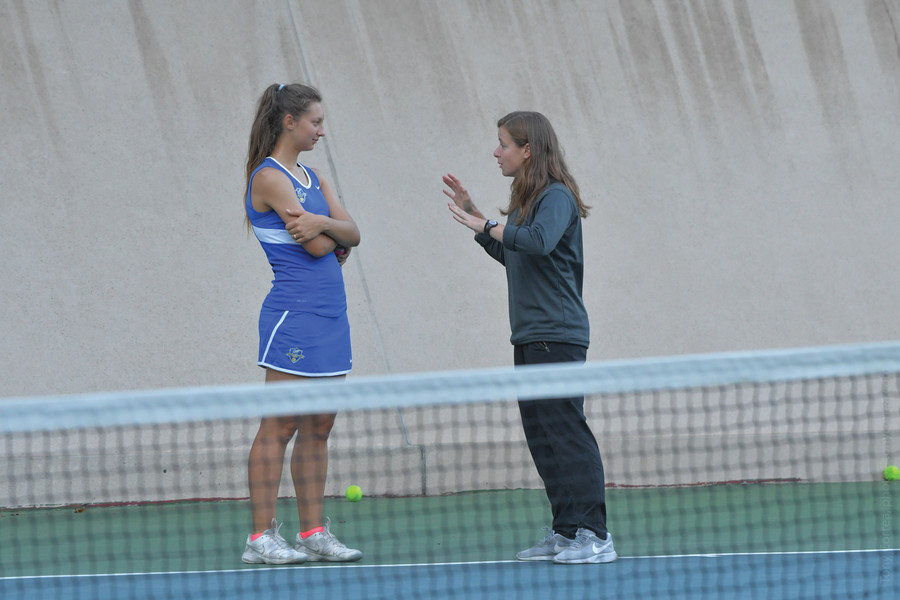 Ana Belzunce turned the Lehman women's tennis program from ordinary to extraordinary in her first season as head coach last year. The Lightning set a school record for wins and reached the CUNYAC championship for the first time.