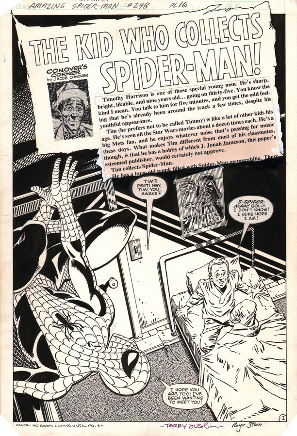 Over the 50 years of comic books, Spider-Man battles villains like Green Goblin, the Rhino and Doctor Octopus.