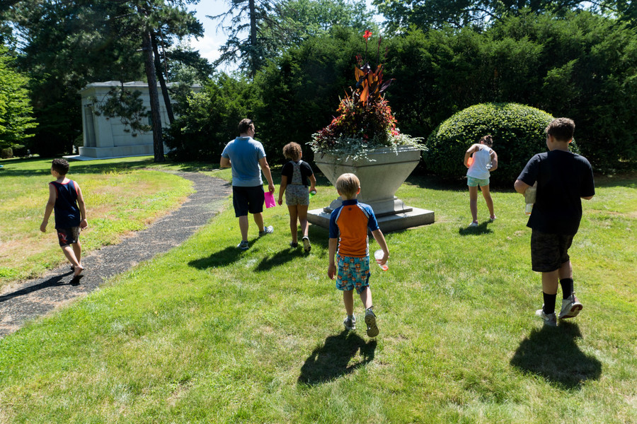 Woodlawn Cemetery wrapped up its third annual summer day camp last week.  While a cemetery might seems like an unusual choice, students raved the location was a great place to learn about art and history — and make new friends.