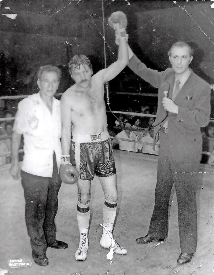 Danny 'Irish' McAloon was a professional boxer and a groundskeeper for the Ethical Culture Fieldston School. He died earlier this month at 74.