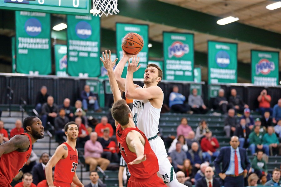 The Manhattan men's basketball team is coming off a disappointing 2016-17 campaign. But with four seniors returning this season — including Zane Waterman, who averaged 14.5 points a game last season — the Jaspers could again be among the teams to beat in the MAAC this season.