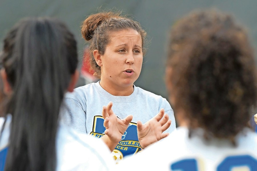 Lehman women's soccer head coach Casey Melilli has had her share of success in her brief tenure with the Lightning. But after an appearance in the CUNYAC title game two seasons ago — followed by a semifinal trip last season — Melilli hopes her senior-dominated team can go out on top this season.