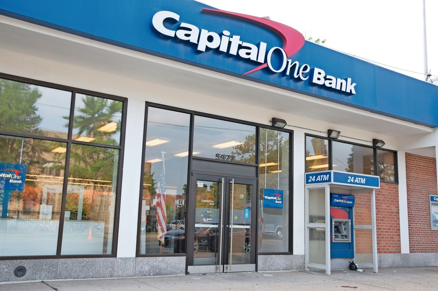 Capital One Bank was ranked by city public advocate Letitia James as the second-biggest lender to landlords on her '100 Worst Landlords Watchlist.'