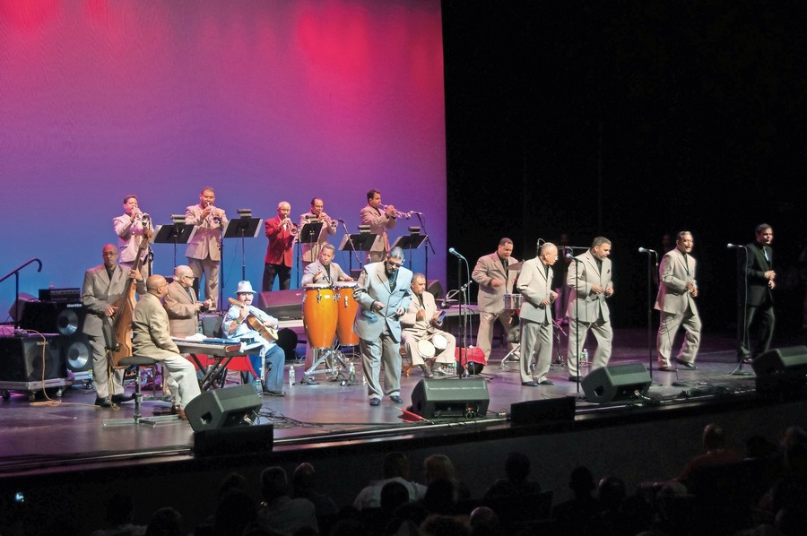Puerto Rican salsa band La Sonora Ponceña bring their energy to the Lehman Center this year to celebrate the vibrant Hispanic culture in the Bronx.