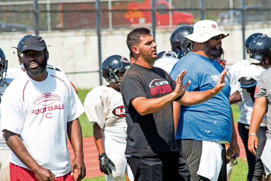 After four seasons as an assistant coach at Fordham Prep, John Applebee gets his first shot as a head coach after taking over the Clinton football program this season.