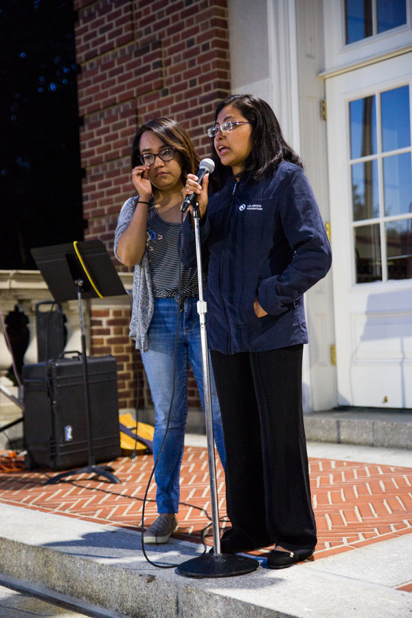 Diana Sanchez, a DACA recipient talked about her experience living as an undocumented resident. Sanchez is the co-founder of Yonkers Sanctuary Movement, a group charged with protecting fellow undocumented residents.