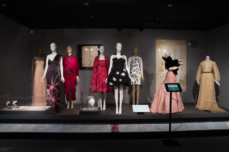 The 'Force of Nature' exhibition at The Museum at FIT shows how elements found the nature like water, flowers — and even a scientific theory like evolution — serve as the muse to fashion designers from the 18th century until present day.