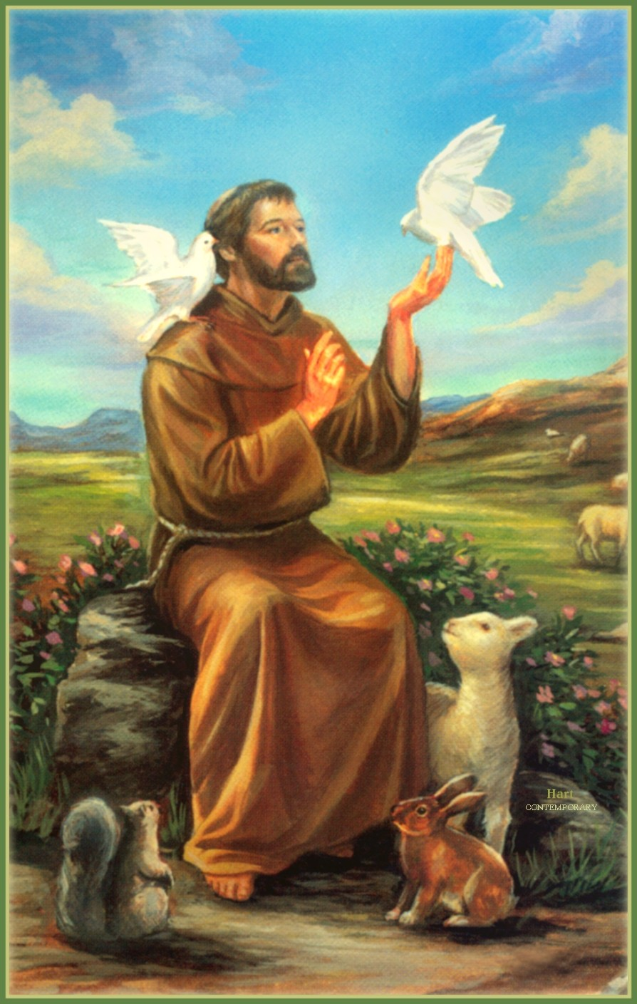 Saint Francis of Assisi: His Life in Art   The Riverdale ...