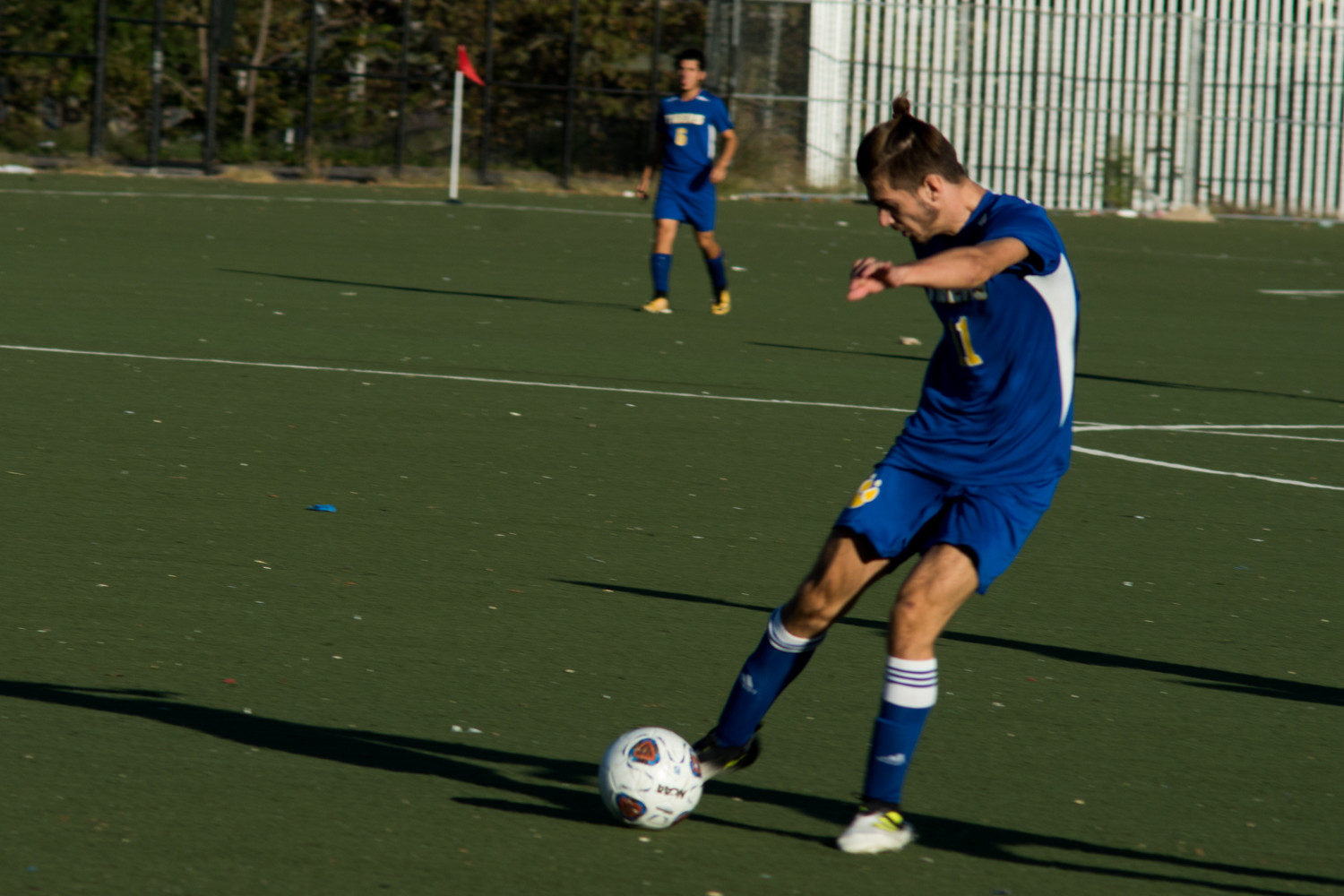 Rronaldo Kocaj, scored both goals in RKA's 2-0 victory over IN-Tech.