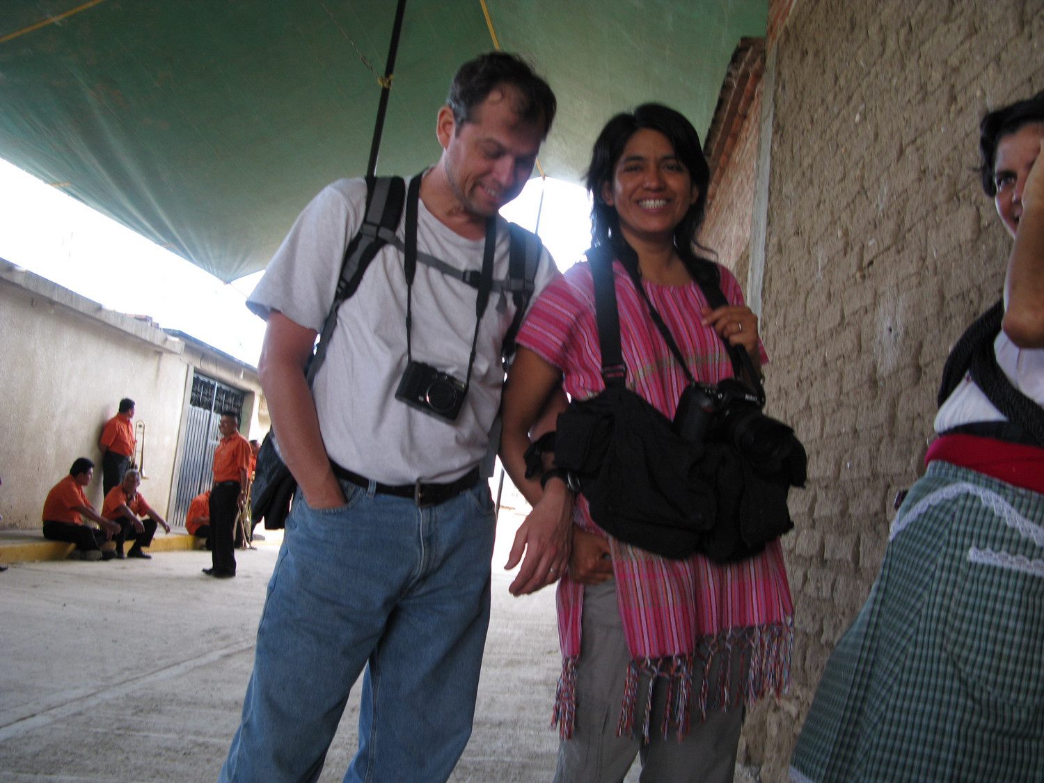Photographer and Riverdale native Wesley Bocxe, left, with his wife, Elizabeth Esguerra Rosas, were victims of the Sept. 19 earthquake that rocked Mexico City. Although Bocxe was hospitalized with his injuries, his wife was killed when their apartment building collapsed. Their daughter, Amara, was unharmed.