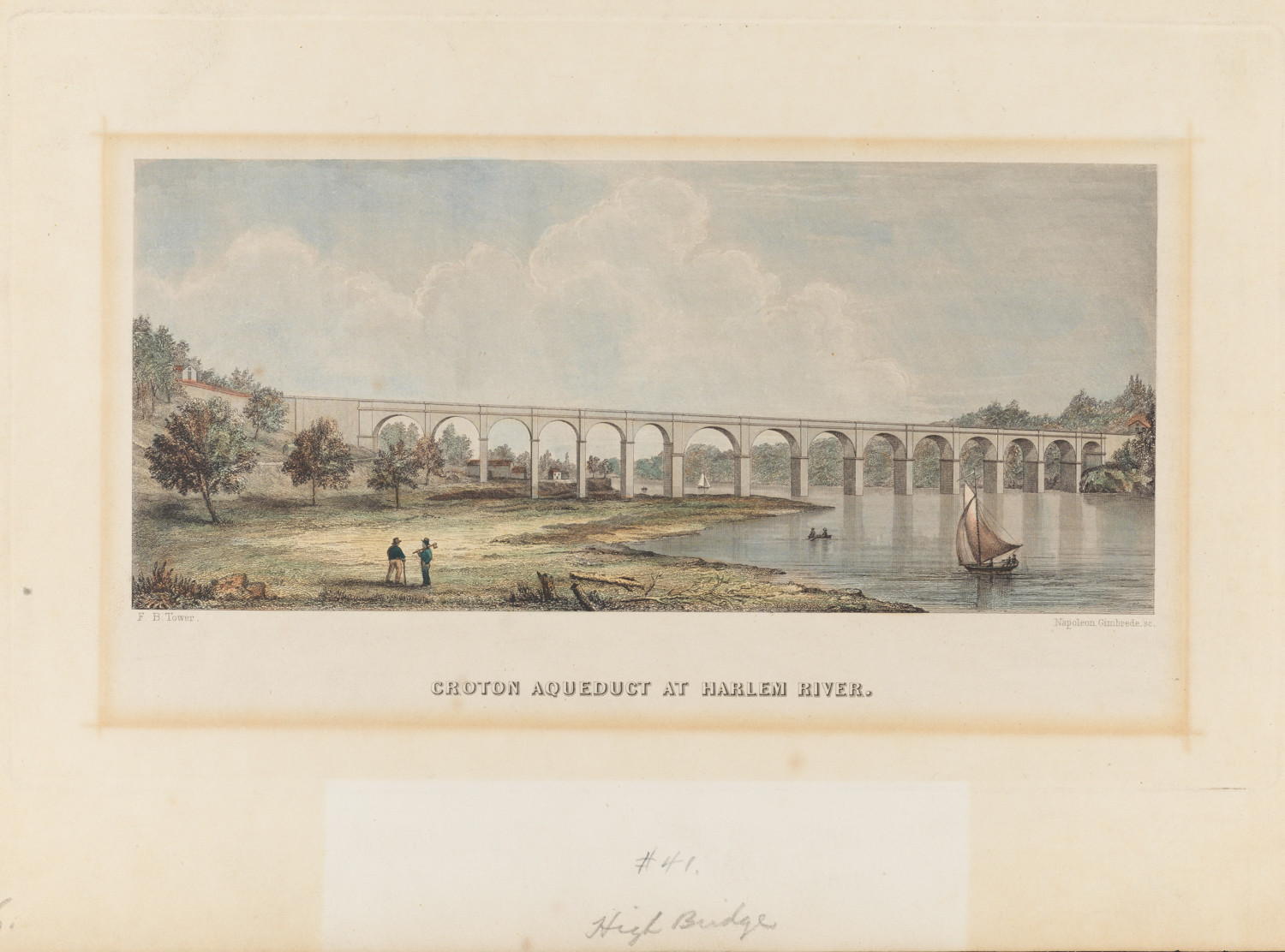A portion of the original Croton Aqueduct can be seen at High Bridge, which connects the Bronx at West 170th Street and University Avenue and Manhattan at West 172nd Street and Amsterdam Avenue. The 41-mile structure brought fresh water to New York City residents beginning in 1842.