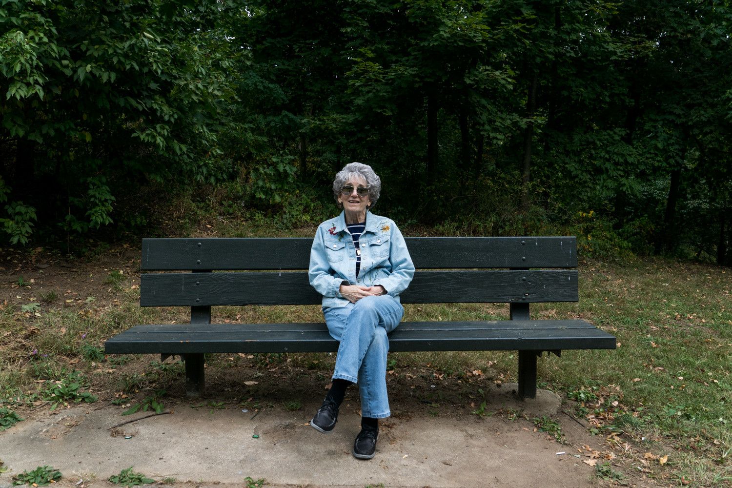 Hackett Park, located at West 254th Street and Riverdale Avenue, doesn't have a bench problem, but it does have a beauty problem. If Emilie Kaufman could have her way, the park would have tables and chairs and better landscaping to make the area more inviting.