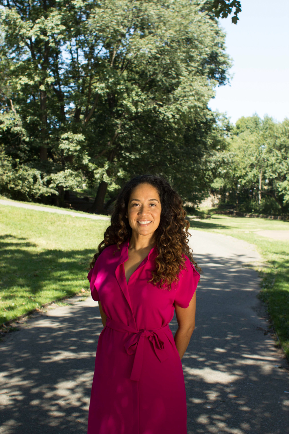 Outgoing Ethical Culture Fieldston's lower school principal Noni Thomas Lopez. She'll head to Rhode Island next summer.
