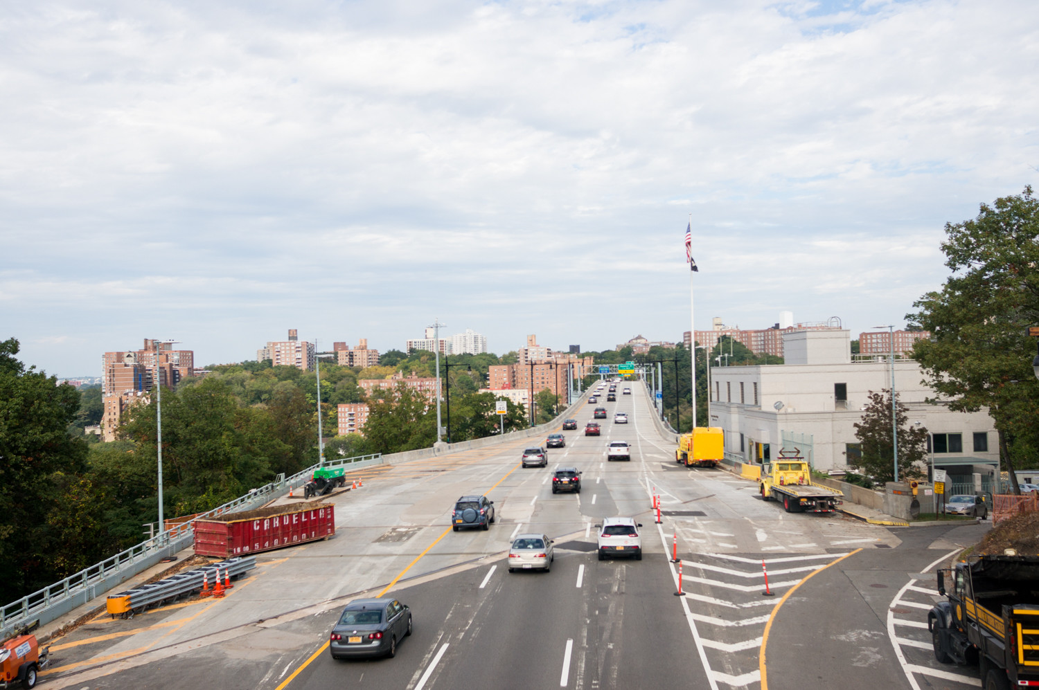 One lane at a time on the northbound and southbound levels will close as rehabilitation work is completed on the Henry Hudson Bridge, connecting upper Manhattan and the Bronx.
