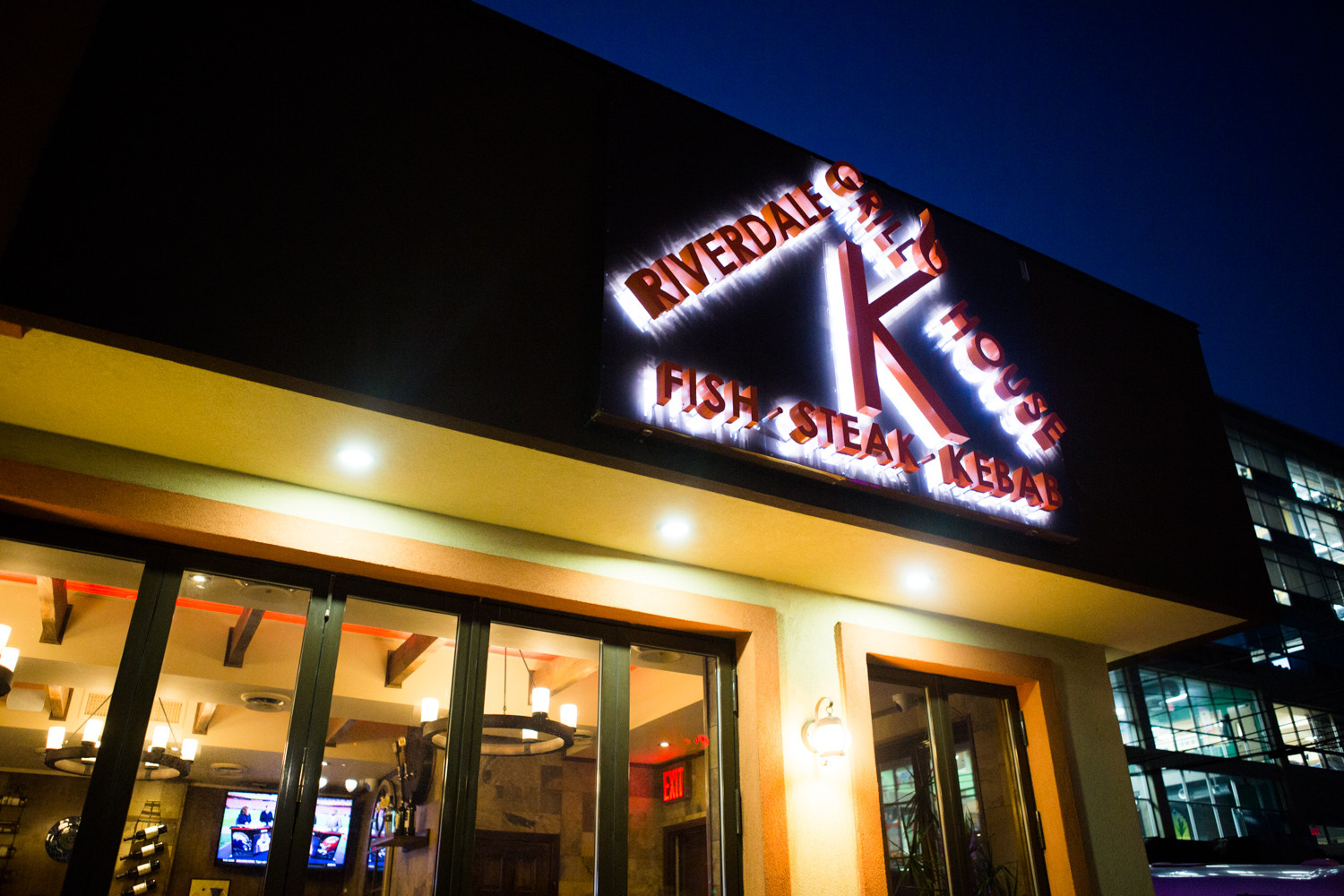 Riverdale K Grill House — known for its fine steaks, juicy burgers, well-seasoned kebabs, and even an ample sushi menu — is on the market. Dmitriy Berezovskiy, the restaurant's current owner, struggled with requirements to keep the establishment glatt kosher.
